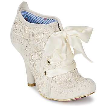 Bottines / Boots Irregular Choice ABIGAILS THIRD PARTY Blanc crème 350x350