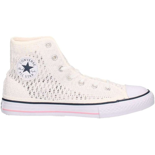 Chaussures Enfant Baskets basses Converse 652725C Sneakers Garçon Blanc Blanc