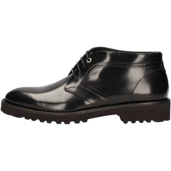 Chaussures Homme Baskets montantes Marini W1619 Lace up shoes Homme Noir Noir
