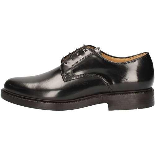 Chaussures Homme Baskets montantes Hudson 901 Lace up shoes Homme Noir Noir