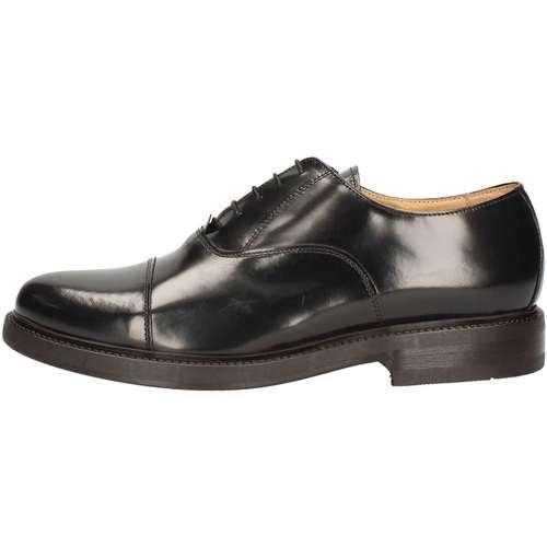 Chaussures Homme Baskets montantes Hudson 904 Lace up shoes Homme Noir Noir