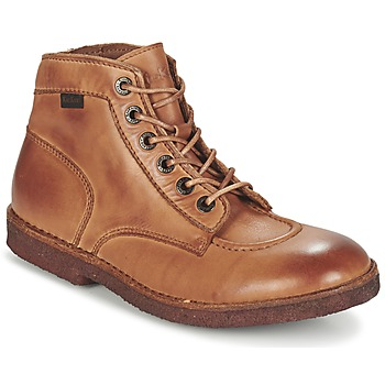 Chaussures Homme Boots Kickers Kick Legend Camel