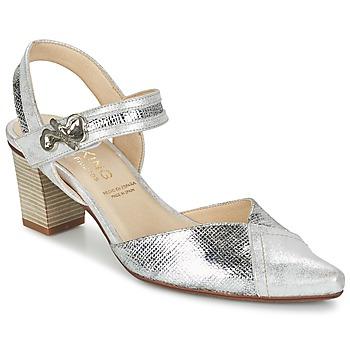 Chaussures Femme Escarpins Dorking DELTA Argent