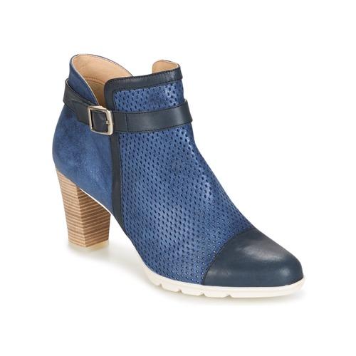 Chaussures Femme Bottines Dorking RUBIS Marine