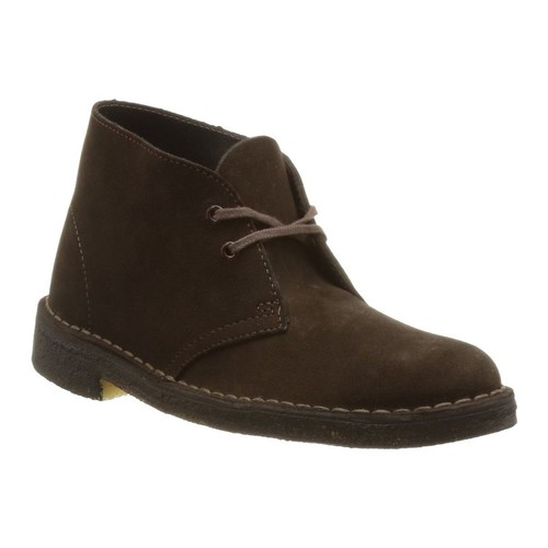 Chaussures Femme Bottines Clarks desert boot f marron