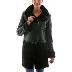 Vêtements Femme Vestes en cuir / synthétiques Vespucci KK-52156 Noir Noir