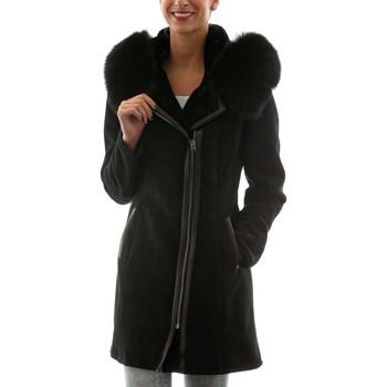 Vêtements Femme Vestes en cuir / synthétiques Giorgio Shay DF Noir Noir