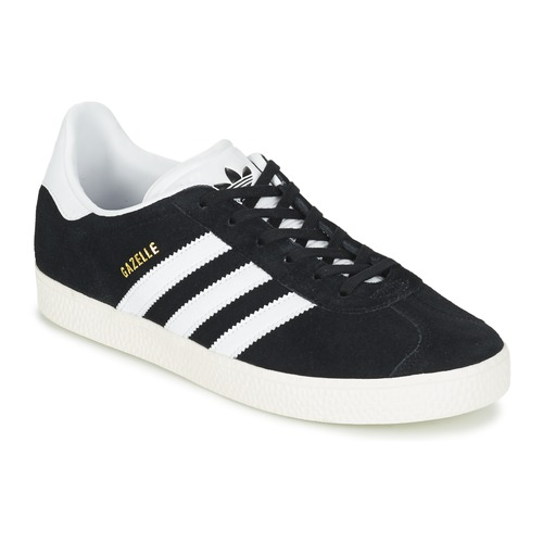 0bbaecdca8930 Chaussures Enfant Baskets basses adidas Originals GAZELLE J Noir