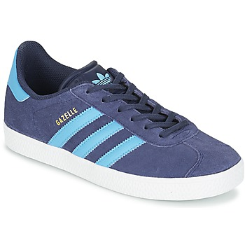Chaussures Enfant Baskets basses adidas Originals GAZELLE J Bleu