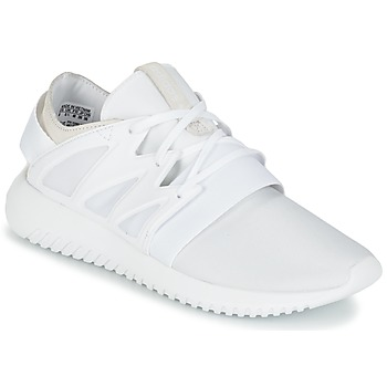 Chaussures Femme Baskets montantes adidas Originals TUBULAR VIRAL W Blanc