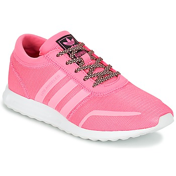 Chaussures Fille Baskets basses adidas Originals LOS ANGELES J Rose