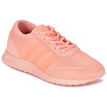 Chaussures Fille Baskets basses adidas Originals LOS ANGELES J Corail