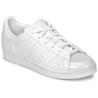 Chaussures Femme Baskets basses adidas Originals SUPERSTAR GLOSSY TO Blanc