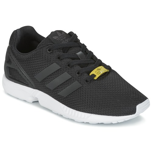 newest df69c 71522 Chaussures Enfant Baskets basses adidas Originals ZX FLUX J Noir