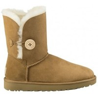 Chaussures Femme Boots UGG BAILEY BOW II MARRON