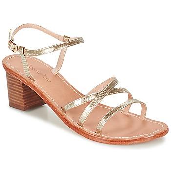 Chaussures Femme Sandales et Nu-pieds Mellow Yellow BALOUNA Doré