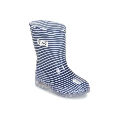 8e8d05093cbd1 Chaussures Enfant Bottes de pluie Be Only MARINO Marine