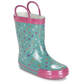 Chaussures Fille Bottes de pluie Be Only LIZZIE Bleu
