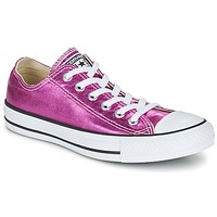 Chaussures Femme Baskets basses Converse CHUCK TAYLOR ALL STAR SEASONAL METALLICS OX Rose métallisé