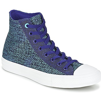 Chaussures Homme Baskets montantes Converse CHUCK TAYLOR ALL STAR II OPEN KNIT HI Bleu