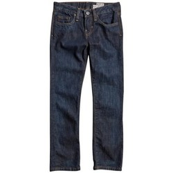 Vêtements Garçon Jeans droit Fox Jean  Boys Throttle - Blue Bleu