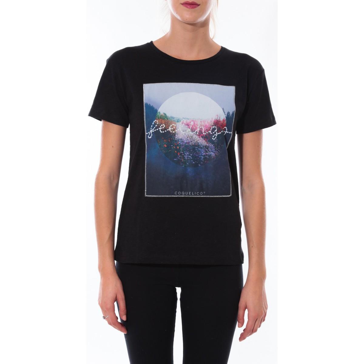 Coquelicot T-shirt  Noir 16423 Noir