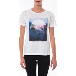 T-shirts manches courtes Coquelicot T-shirt  Blanc 16423