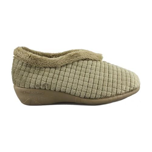 Vulladi MONTBLANC BLEU - Chaussures Chaussons Femme