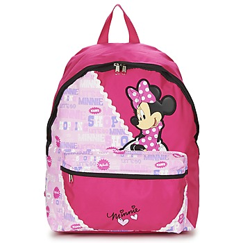 Sacs Fille Sacs à dos Disney MINNIE SCRATCH DOTS SAC A DOS BORNE Rose