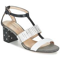 Chaussures Femme Sandales et Nu-pieds Metamorf'Ose ZAFNOLO Noir / Blanc