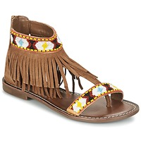 Chaussures Femme Sandales et Nu-pieds Metamorf'Ose ZACCIN Marron