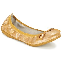 Chaussures Femme Ballerines / babies Les P'tites Bombes ELLA Jaune
