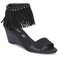 Chaussures Femme Sandales et Nu-pieds Les P'tites Bombes NADIA Noir
