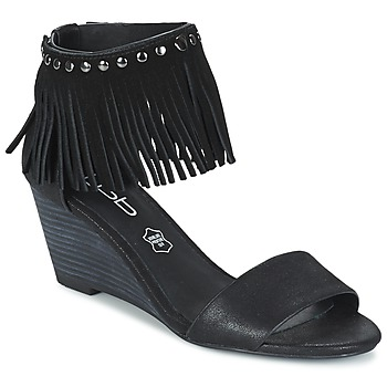 Chaussures Femme Sandales et Nu-pieds LPB Shoes NADIA Noir