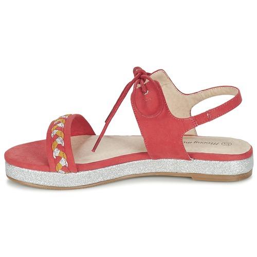 Chaussures Sandales Globune Et Nu Mood Rose pieds Moony Femme sorxQdBCth