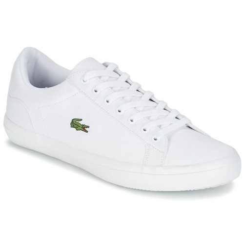 Chaussures Homme Baskets basses Lacoste LEROND BL 2 Blanc
