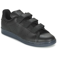Chaussures Homme Baskets basses adidas Originals STAN SMITH CF Noir