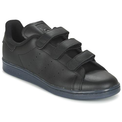 Chaussures Homme Baskets basses adidas Originals STAN SMITH CF Noir