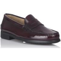 Chaussures Homme Mocassins Castellanos Artesanos 350 Rouge