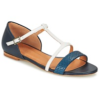 Chaussures Femme Sandales et Nu-pieds Emma Go KEIRA Marine / Blanc
