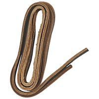 Accessoires chaussures Famaco Lacet cuir 120 cm marron fonce