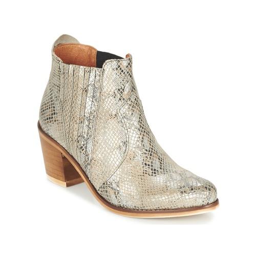 Chaussures Femme Bottines Coqueterra SHEILA Beige