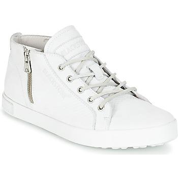 Chaussures Femme Baskets montantes Blackstone NL35 Blanc