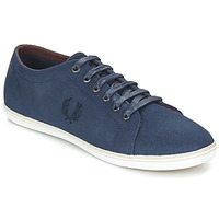 Chaussures Homme Baskets basses Fred Perry KINGSTON COATED CANVAS Bleu