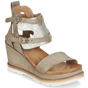 Chaussures Femme Sandales et Nu-pieds Mjus APRIL Taupe/argent