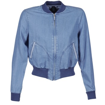 Vêtements Femme Vestes en jean Benetton FERMANO Bleu medium