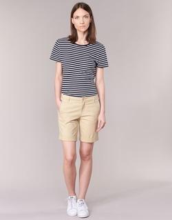 Vêtements Femme Shorts / Bermudas Benetton JAVIN Beige