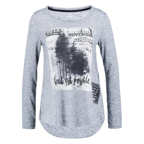 T-shirts & Polos Only CLARA L/S TOP Gris 350x350
