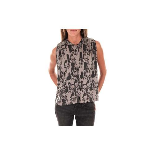 Vêtements Femme Tops / Blouses Vero Moda Top Horse  Gris Noir Noir