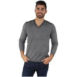 Vêtements Homme Pulls Redskins Pull  Mister Elvis ref_trk40141-gris gris